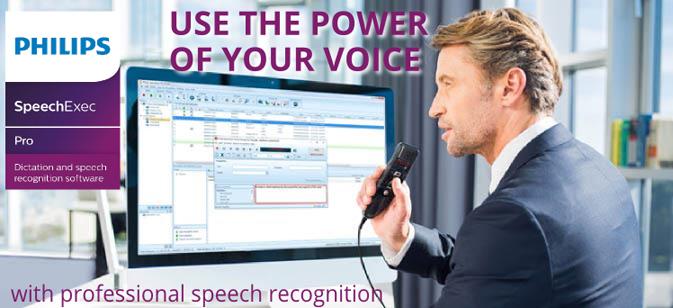 Philips SpeechExec Pro X voice recognition